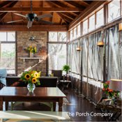 acrylic porch panels by The Porch Company