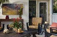 porch decor color