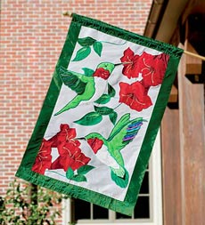 outdoor decorative flag