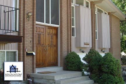 Porch designs - before