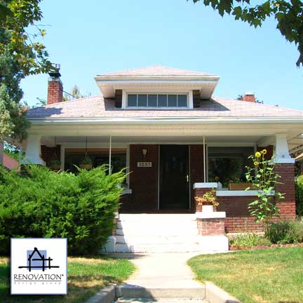 Porch designs - bungalow before