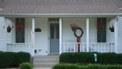 Porch facelift needed on country porch