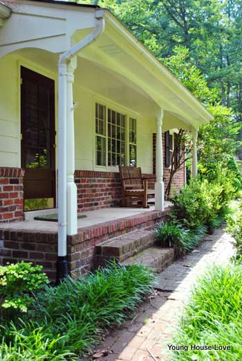 John and Sherry's porch makeover