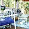 screened porch makeover by Brittany