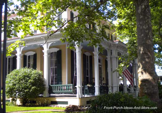 Classic Southern Front Porch