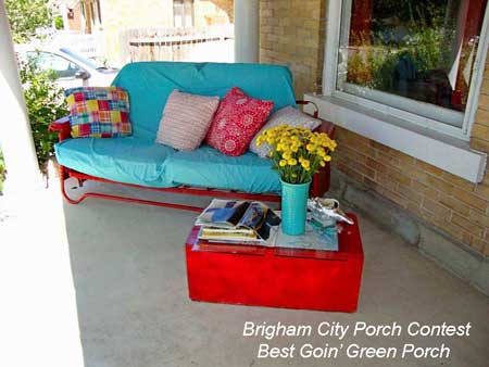 Brigham City Utah Porch Contest Best Goin Green
