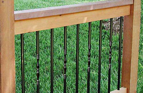 Colonial Aluminum Porch Railing
