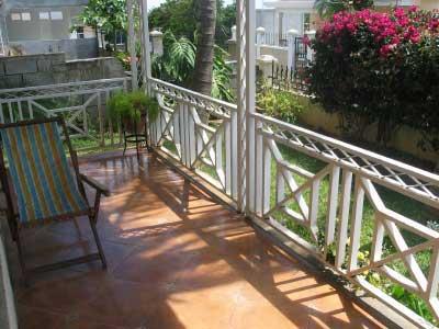 wood railing design at 45 degree angles