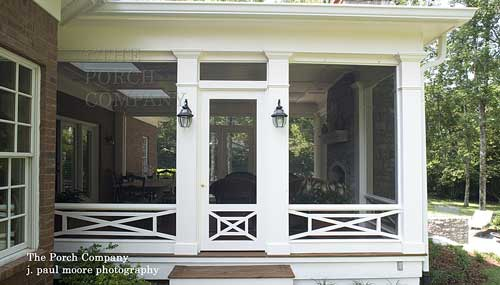 elongated deck railings