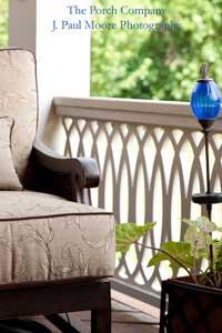 exquisite porch railing design