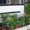 rectangular porch skirting design