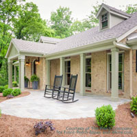 front porch makeover by The Porch Company
