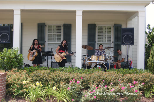 Porchfest band in Westhaven, TN