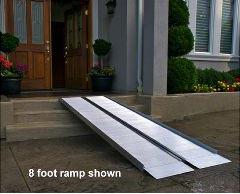 metal portable wheelchair ramps