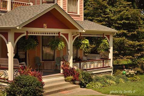 Beautiful Porch Railing panels with sunburst design