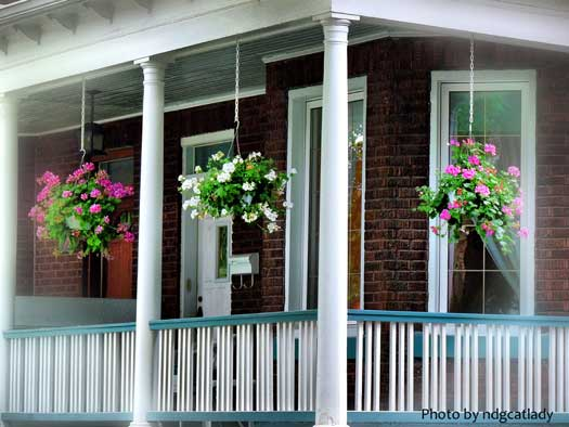 beautiful balustrade with triple balusters