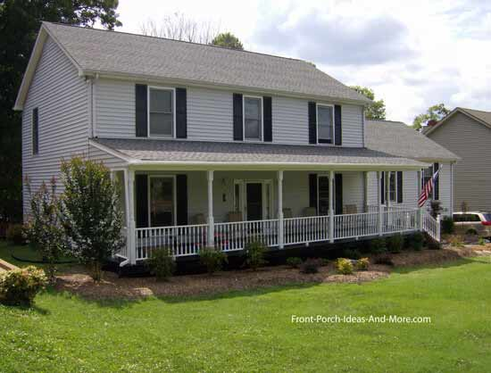 How to build a porch build a front porch front porch for How much to build a front porch