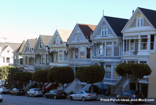 Seven Sisters in San Francisco California