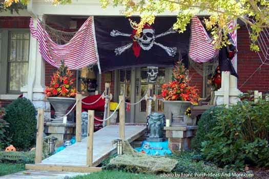 pirate halloween display