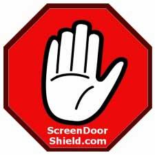 Screen Door Shield Picture