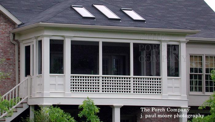 The Porch Company custom screen porch