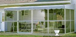screen porch kit from ScreenHouses Unlimited