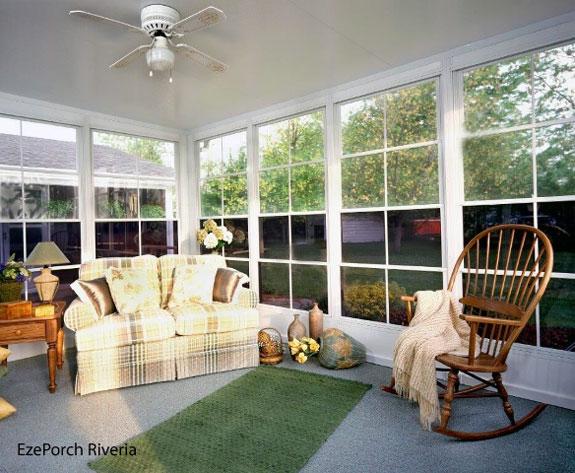 sceen porch windows by EzePorch.com