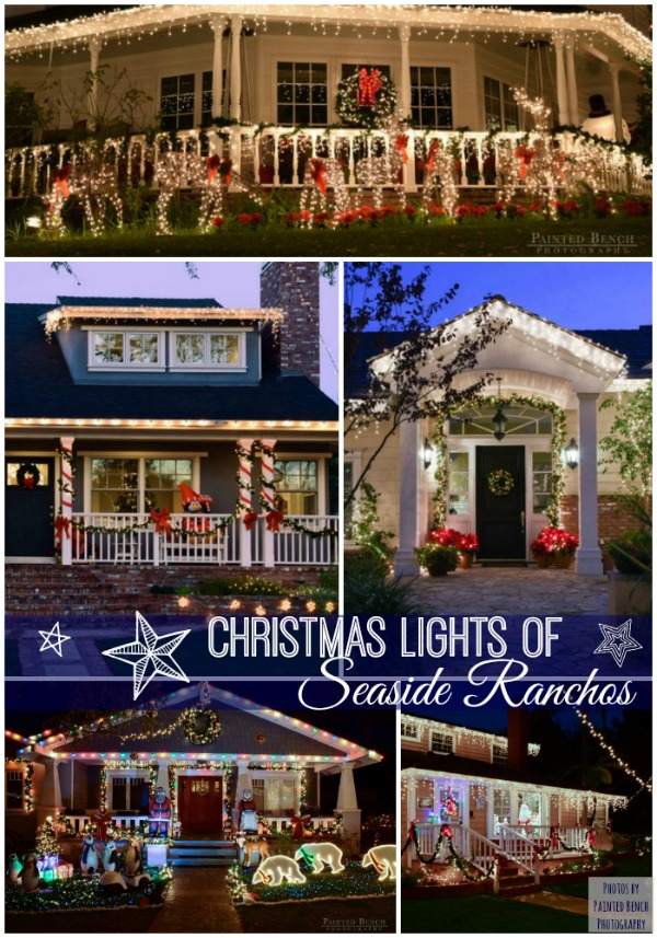 We have a collection of houses decorated with Christmas lights. Come see on Front Porch Ideas And More