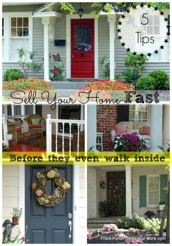 Sell your home fast collage before they even walk inside.