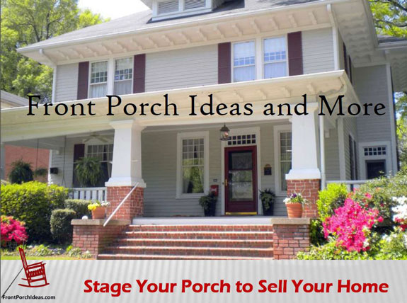 ebook cover about using porch to sell home