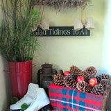Christmas decorating ideas from Sheila, Anna and Colleen