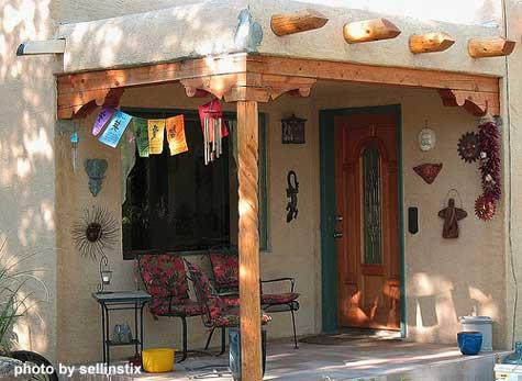 Southwest porch
