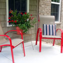 Spray paint your porch furniture