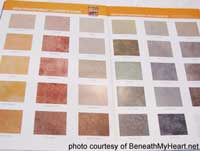 color examples for staining concrete floors