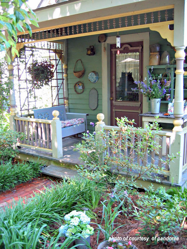 Summer on this porch is extra wonderful