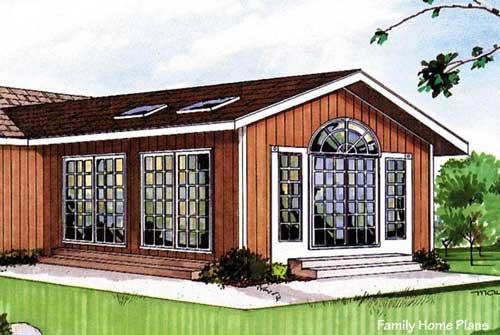 Three season porch plan 85949