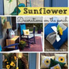 sunflower decorations for front porch