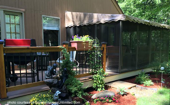 three sided screen porch kits for diy