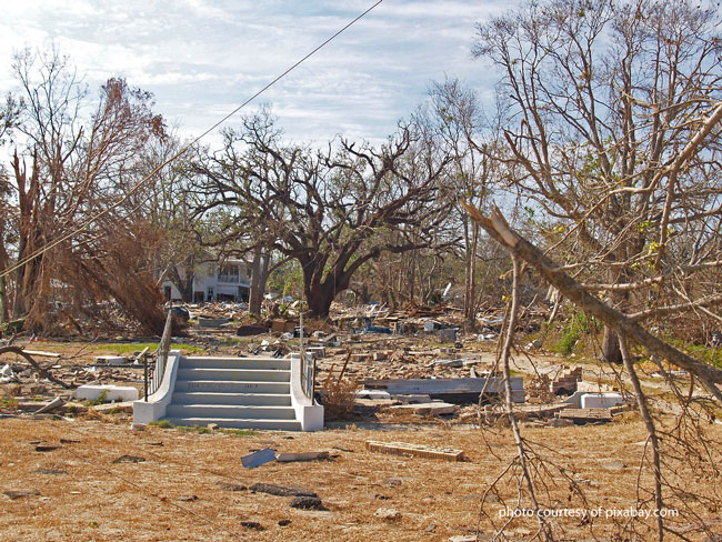 a porch is the only remaining structure after this tornado
