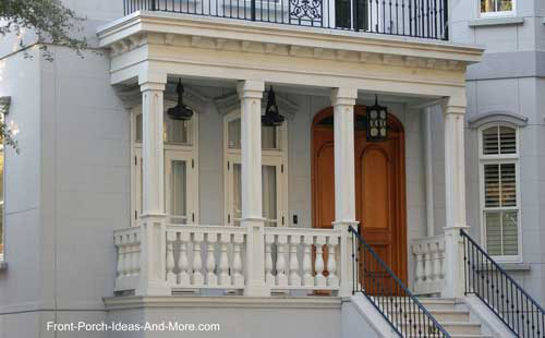 heavy looking porch balusters