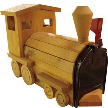 unusual mailboxes - train