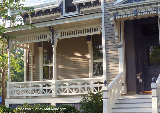charming victorian front porch
