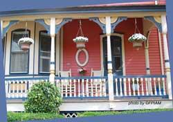 Victorian Porch Columns