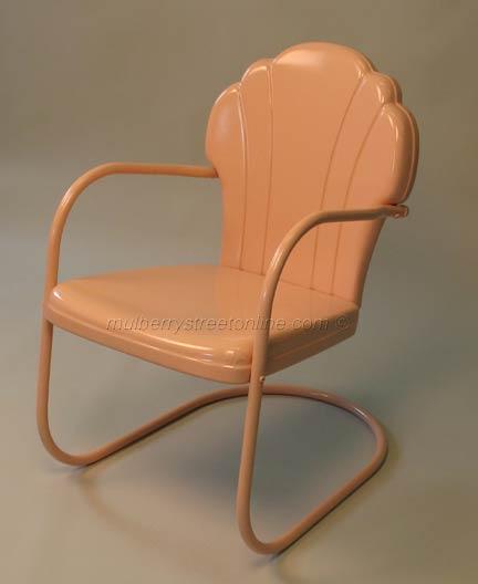 Vintage metal chair