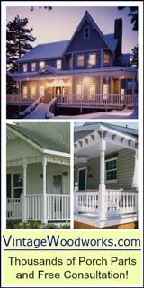 Shop for Porch Parts at Vintage Woodworks.
