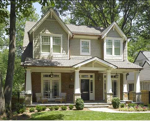 Craftsman-style Porch