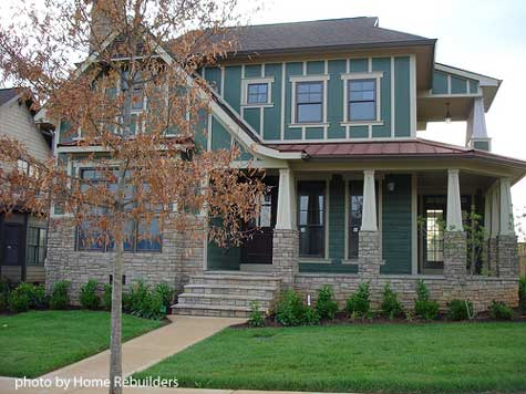 Craftsman-style Porch