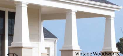 Vinyl porch column front porch columns porch column wraps for 10 foot porch columns