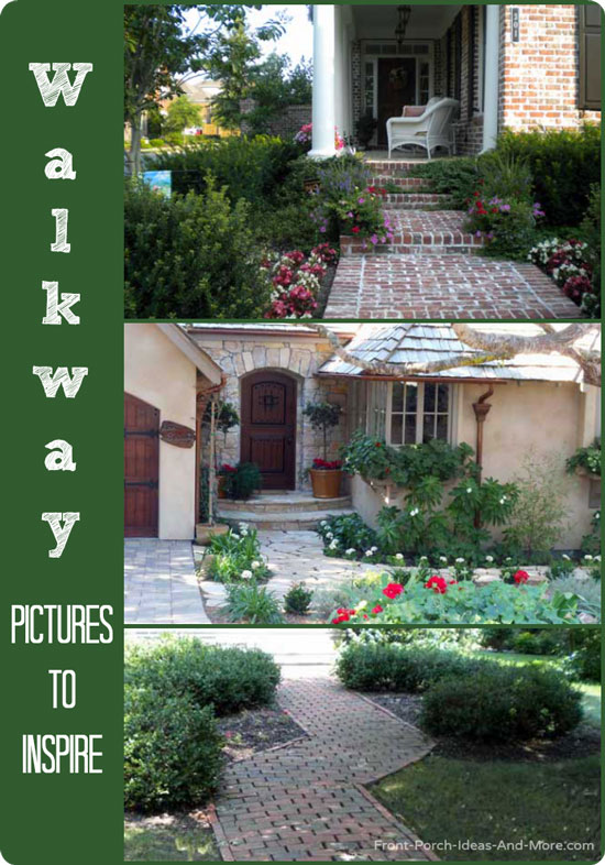 Walkway ideas collage