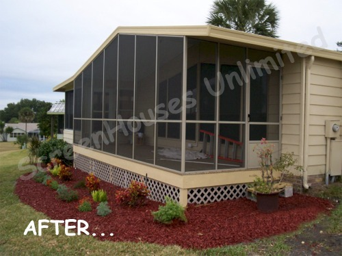 Can An Attached Car Port Be Converted To A Screened Porch